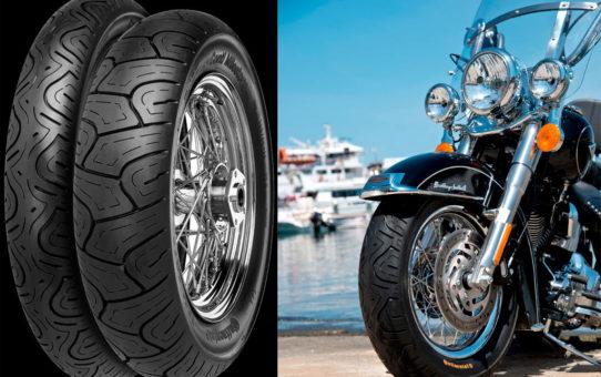 Le pneu moderne destiné aux cruisers et aux GT lourdes - Conti Milestone