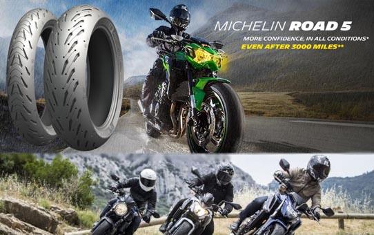 Améliorations technologiques du pneu MICHELIN Road 5