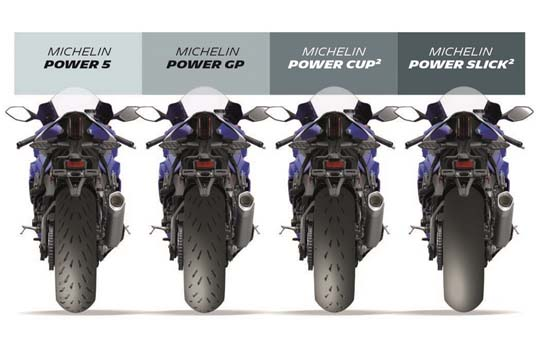Pneus moto Michelin power
