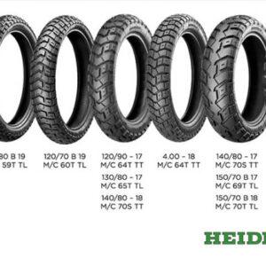 Heidenau K60 Scout pneus moto