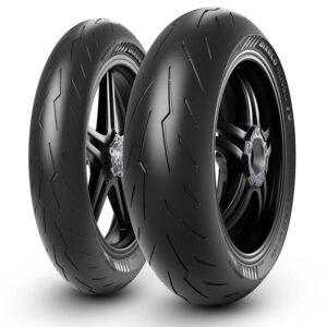 Diablo Rosso pirelli IV 4 pneus moto